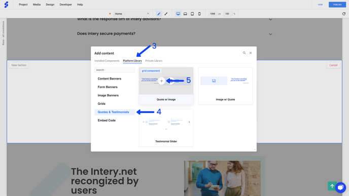 How to create a page section with a new library page component_ (3)