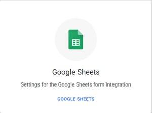 Sheets toolstack