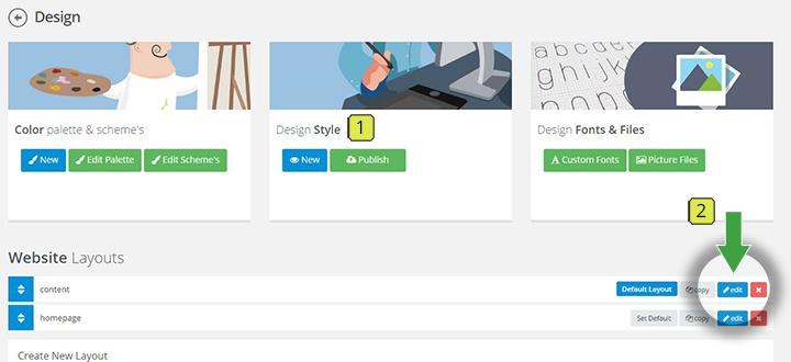 2 select layout