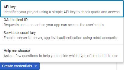 Google Maps: API Key